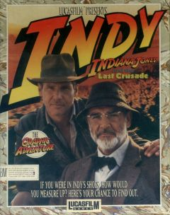 Jaquette de Indiana Jones and the Last Crusade : The Graphic Adventure PC
