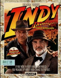 Jaquette de Indiana Jones and the Last Crusade : The Graphic Adventure Amiga