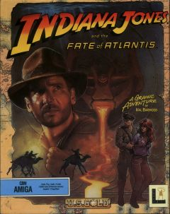 Jaquette de Indiana Jones and the Fate of Atlantis Amiga