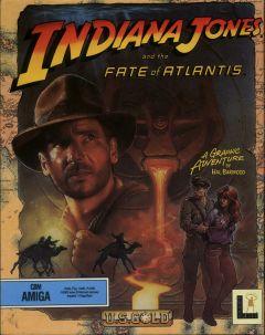 Jaquette de Indiana Jones and the Fate of Atlantis Amiga