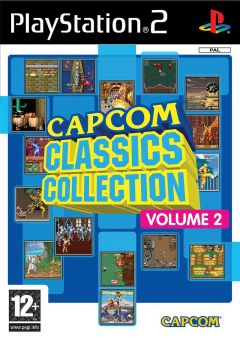 Jaquette de Capcom Classics Collection Volume 2 PlayStation 2
