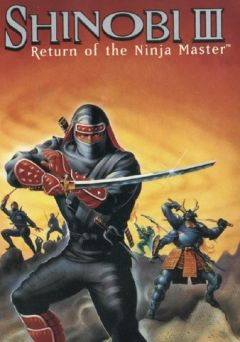 Jaquette de Shinobi III : Return of the Ninja Master Nintendo 3DS