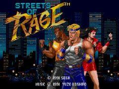 Jaquette de Streets of Rage Nintendo 3DS