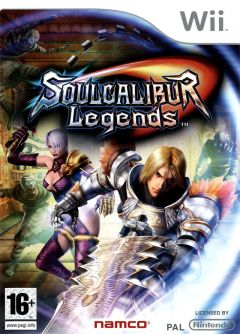 Jaquette de SoulCalibur Legends Wii