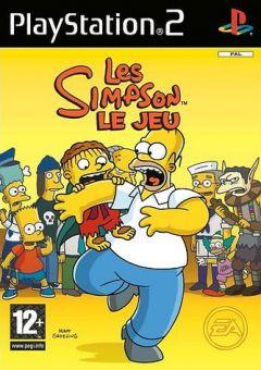 Jaquette de Les Simpson : le Jeu PlayStation 2