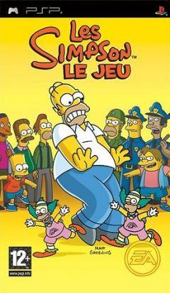 Jaquette de Les Simpson : le Jeu PSP