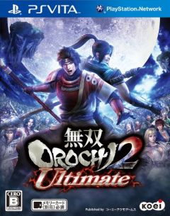 Jaquette de Warriors Orochi 3 PS Vita