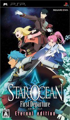 Jaquette de Star Ocean First Departure PSP