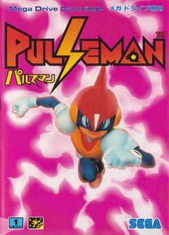 Jaquette de Pulseman Mega Drive