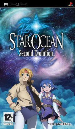 Jaquette de Star Ocean Second Evolution PSP