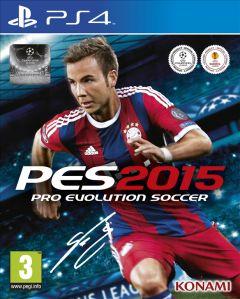 Jaquette de PES 2015 PS4