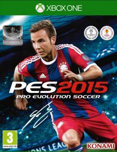 Jaquette de PES 2015 Xbox One
