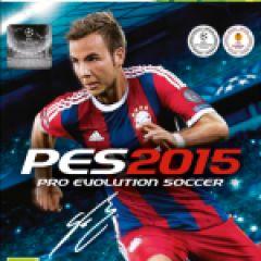 Jaquette de PES 2015 Xbox 360