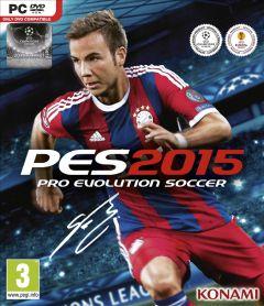 Jaquette de PES 2015 PC