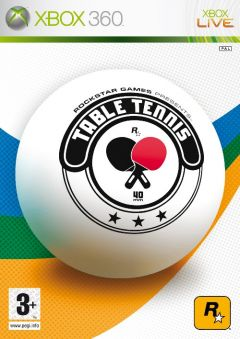 Jaquette de Table Tennis Xbox 360