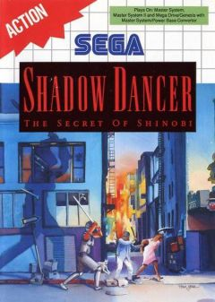 Jaquette de Shadow Dancer Master System
