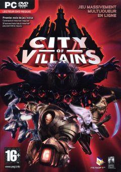 Jaquette de City Of Villains PC