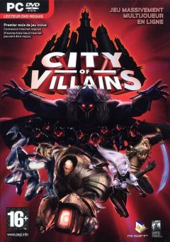 Jaquette de City Of Villains PC