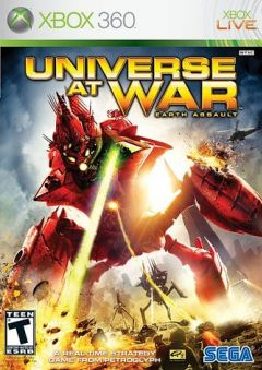 Jaquette de Universe at War : Earth Assault Xbox 360