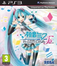 Jaquette de Hatsune Miku : Project Diva F 2nd PlayStation 3
