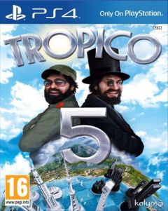 Jaquette de Tropico 5 PS4