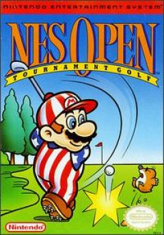 Jaquette de NES Open Tournament Golf NES