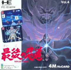 Jaquette de Ninja Spirit PC Engine