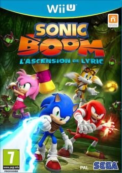Jaquette de Sonic Boom : L'Ascension de Lyric Wii U