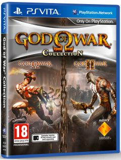 Jaquette de God of War Collection PS Vita