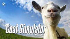 Jaquette de Goat Simulator PC