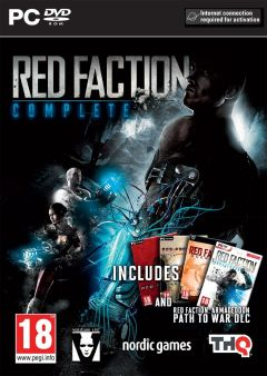 Jaquette de Red Faction Complete PC