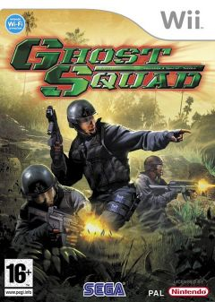 Jaquette de Ghost Squad Wii