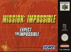 Jaquette de Mission Impossible Nintendo 64