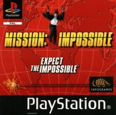 Jaquette de Mission Impossible PlayStation