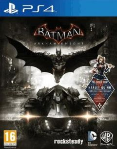 Jaquette de Batman : Arkham Knight PS4