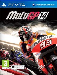 Jaquette de MotoGP 14 PS Vita