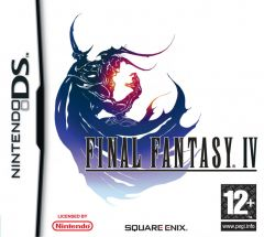 Jaquette de Final Fantasy IV DS