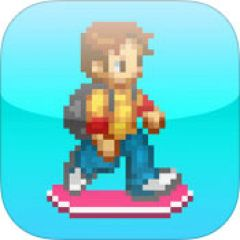 Jaquette de Hoverboard Rider - No Flappy No Bird iPhone, iPod Touch