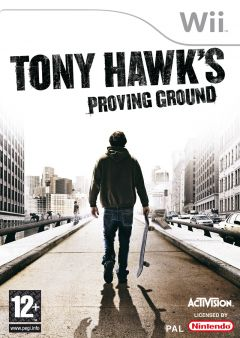 Jaquette de Tony Hawk's Proving Ground Wii