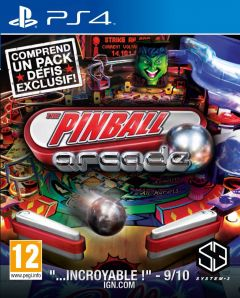 Jaquette de The Pinball Arcade PS4