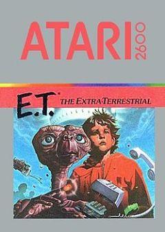 Jaquette de E.T. l'extra-terrestre Atari 2600