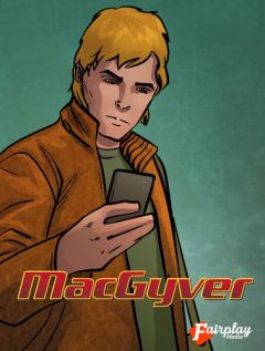 Jaquette de MacGyver iPhone, iPod Touch