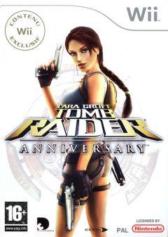 Jaquette de Tomb Raider Anniversary Wii