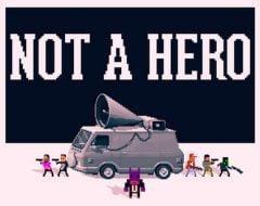 Jaquette de Not a Hero PS4