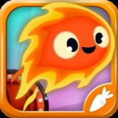 Jaquette de Pyro Jump iPhone, iPod Touch