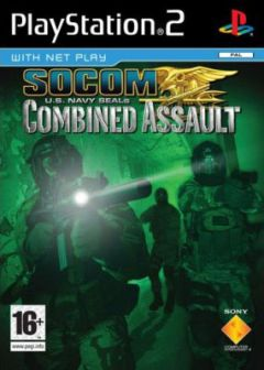 Jaquette de SOCOM : U.S. Navy Seals Combined Assault PlayStation 2