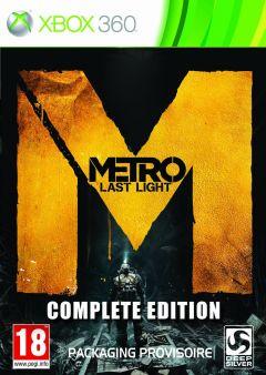 Jaquette de Metro : Last Light - Édition Complète Xbox 360