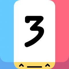 Jaquette de Threes iPhone, iPod Touch