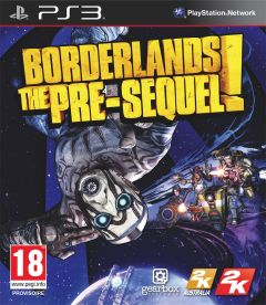 Jaquette de Borderlands : The Pre-Sequel ! PlayStation 3