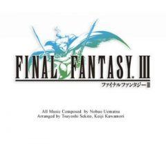 Jaquette de Final Fantasy III PC